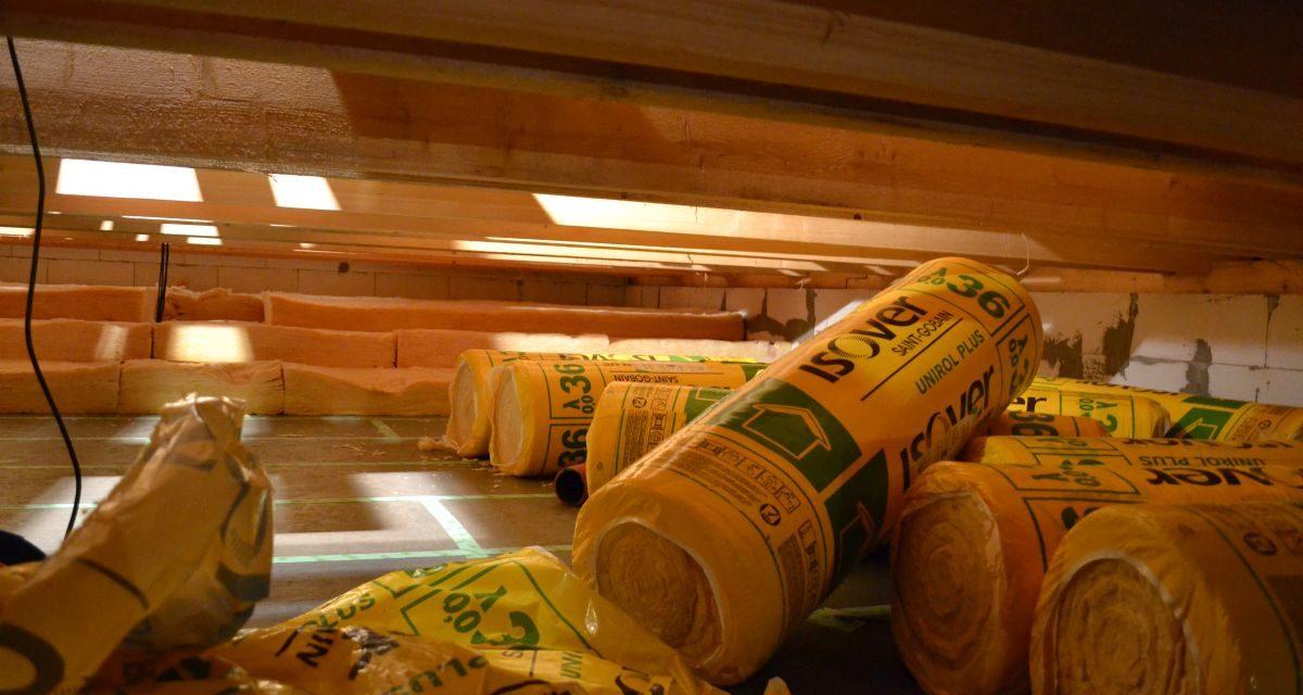 Utěsnění a izolace stropu