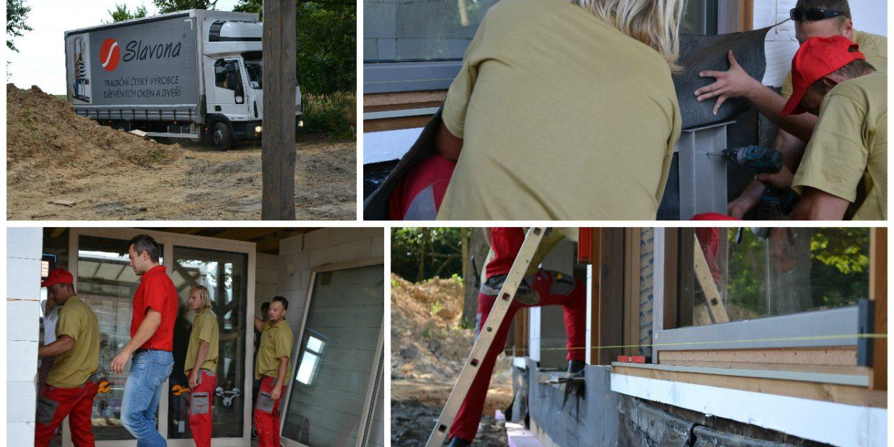 Montáž dřevěných oken
