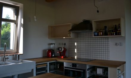 Kuchyň bude!